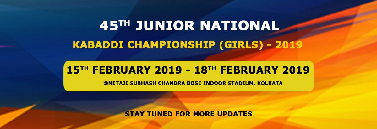 45th Junior National Kabaddi Championship-Girls