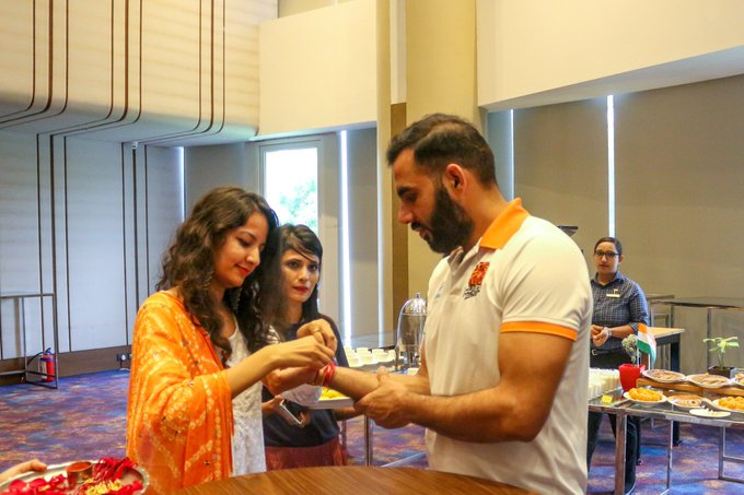 Kabaddi stars celebrate Rakshabandhan, flood social media with pictures