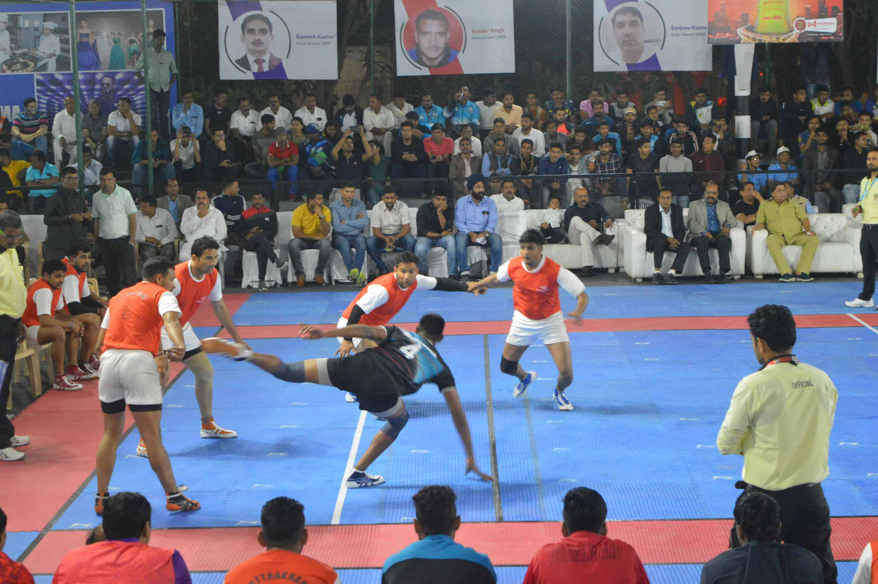 National camp for Senior national Kabaddi team probables to start from 15th September
