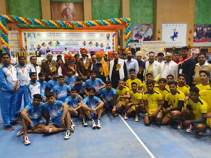 Probable players for India's junior national Kabaddi team (Boys)