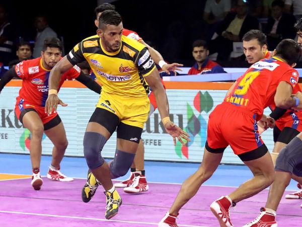 तेलुगु टाइटन्स के ऑल-टाइम बेस्ट प्लेइंग 7- प्रो कबड्डी लीग में सबसे लोकप्रिय टीमों में से एक!