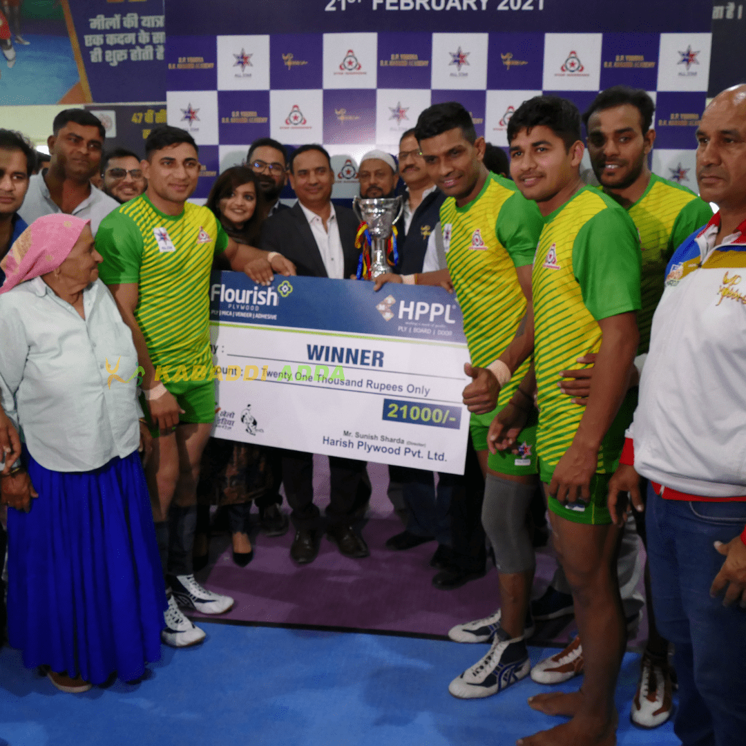 Star warriors defeated UP Yoddha in All-Star match in Meerut