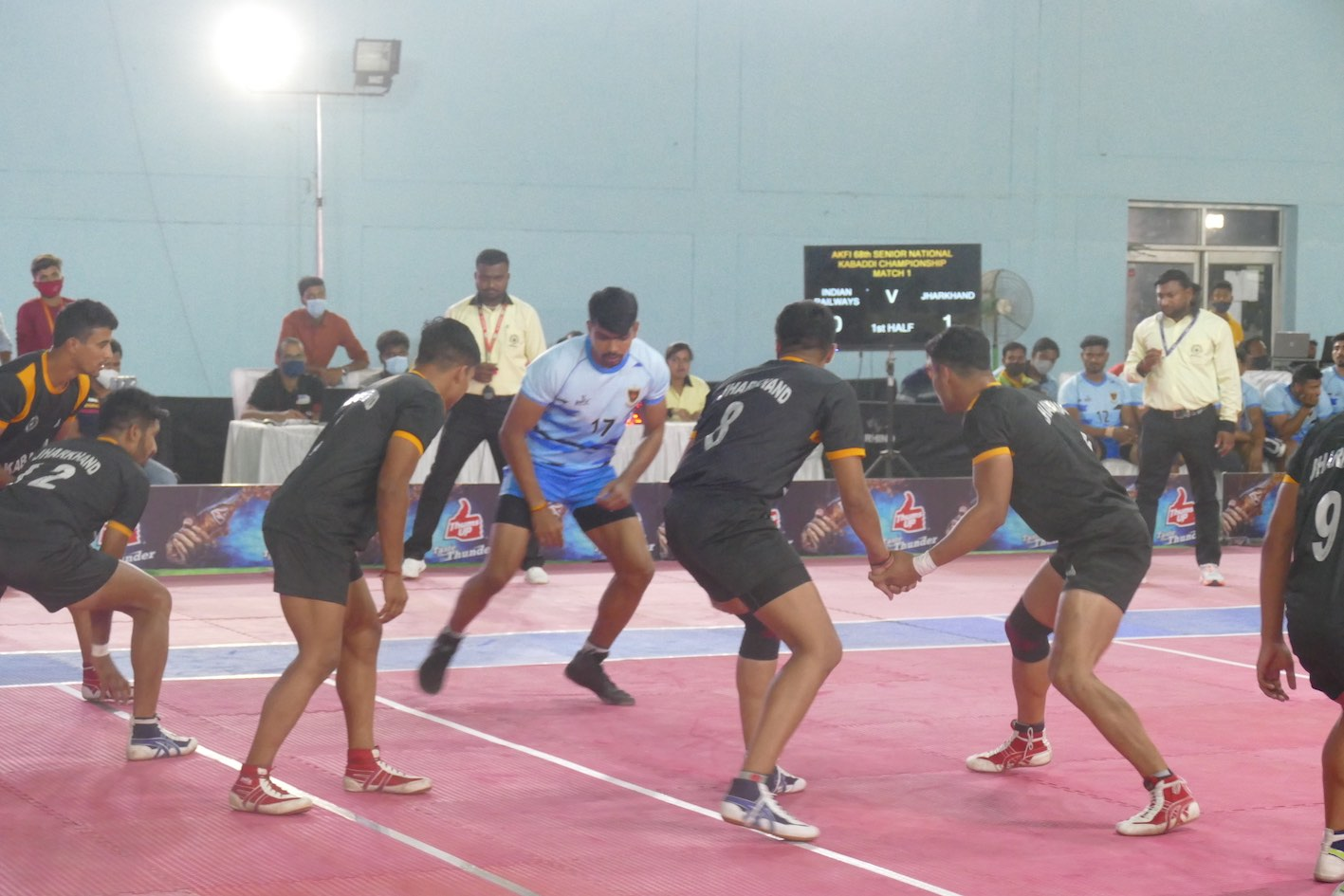 Railways, Services dominate on Day 2/3 || 68th Senior National Kabaddi Championship Results Summary