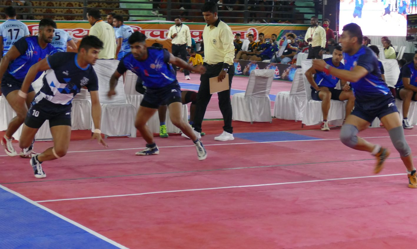 Home team UP knocked out, Maharashtra through to semis by a whisker | 68th Senior Nationals