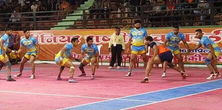 Hosts Uttar Pradesh push Haryana out of 68th Senior National Kabaddi Championship