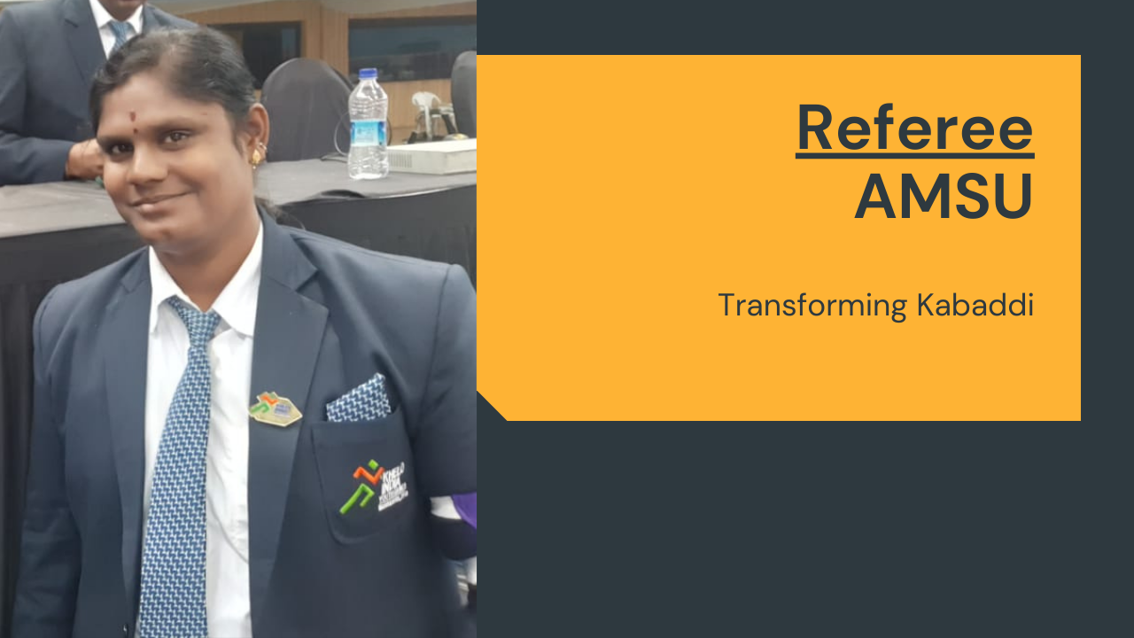 Transforming Kabaddi from Madurai   Referee Amsu Muniyandi