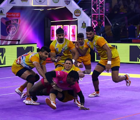 Bengaluru Rhinos become Champions in the Indo International Premier Kabaddi League