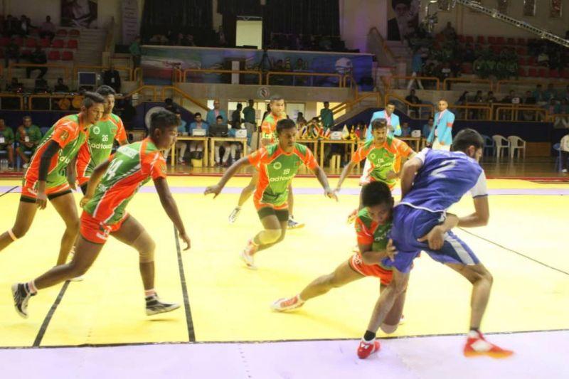 India's neighbors Pakistan and Srilanka junior kabaddi world cup