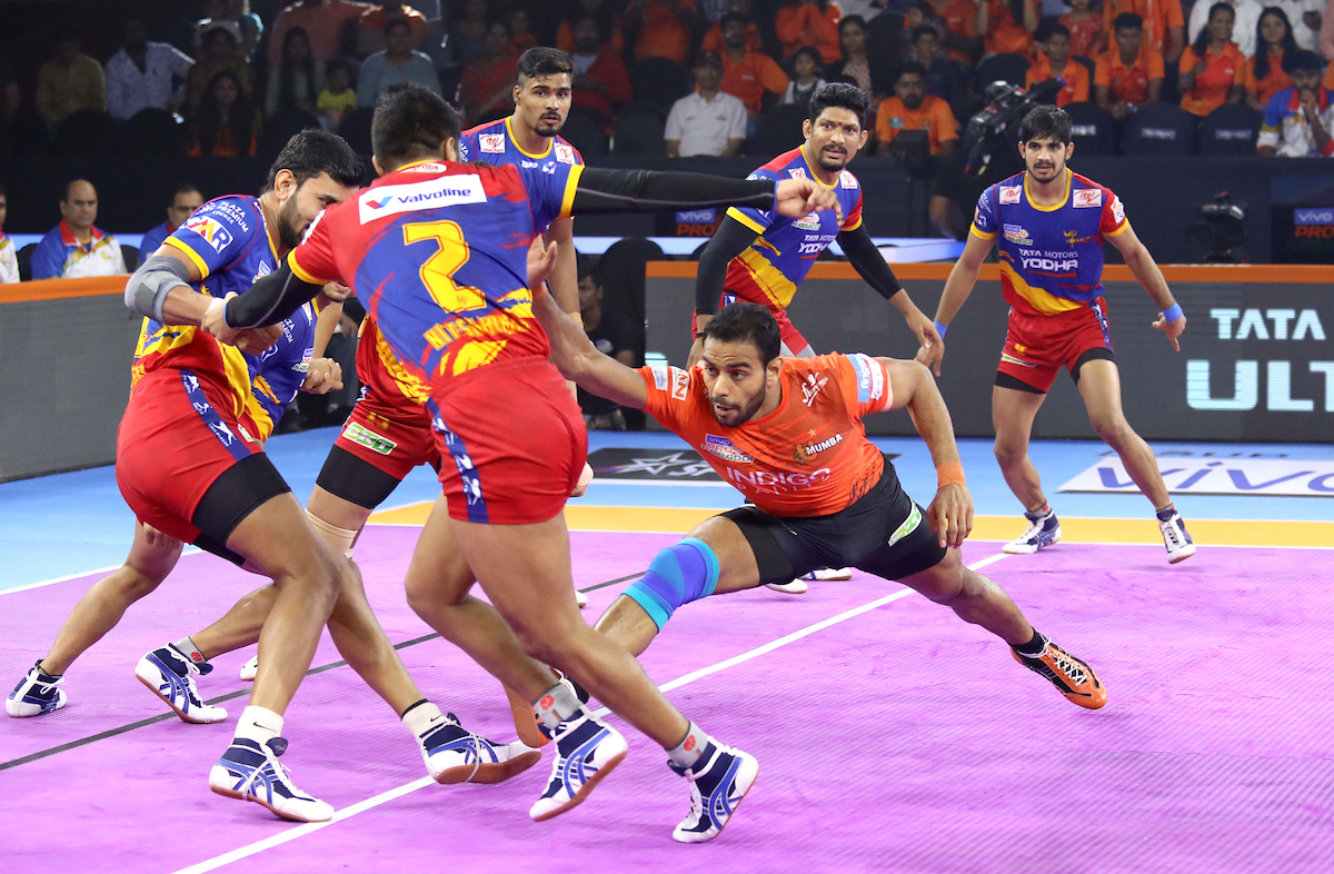 U MUmba Vs UP Yoddha