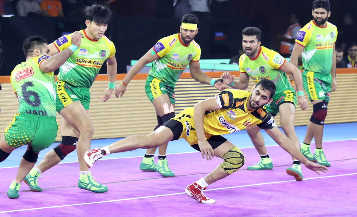 Patna Pirates Vs. Telugu Titans
