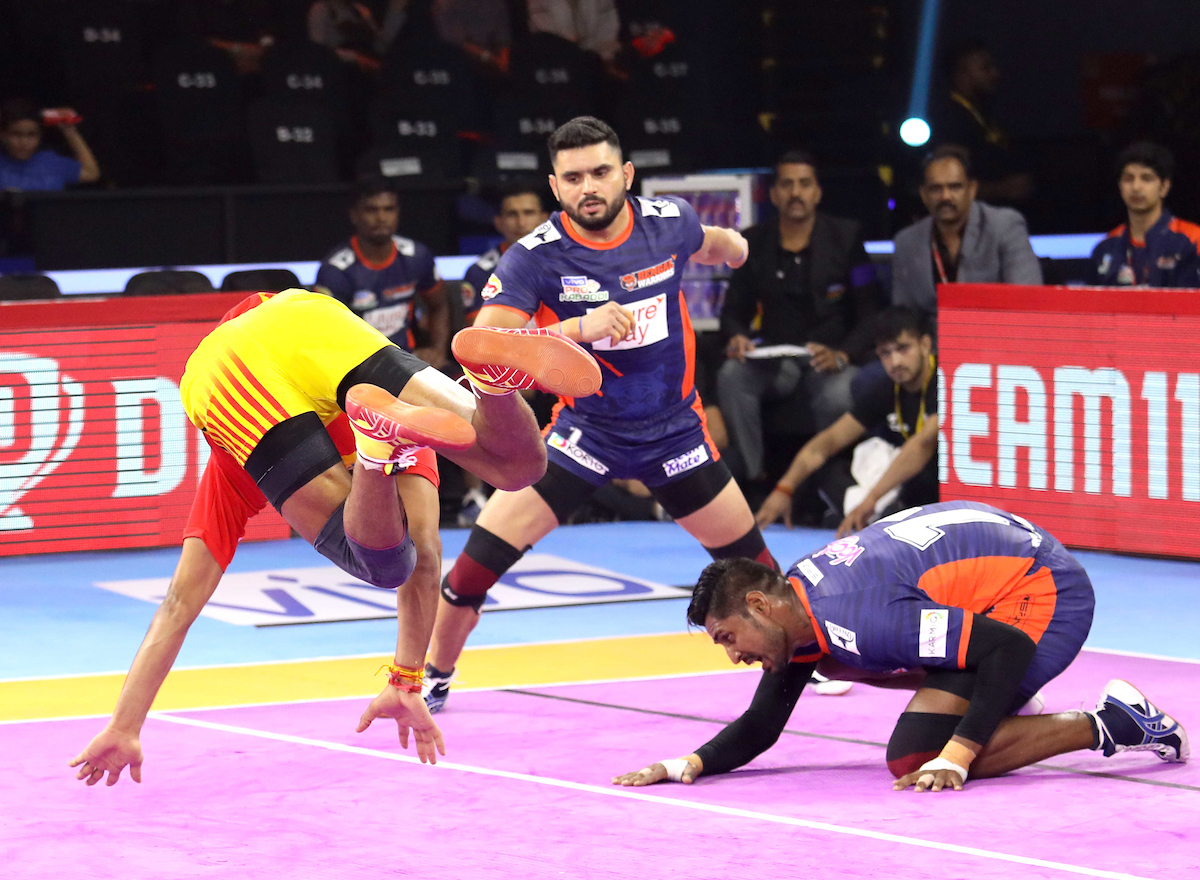 Gujarat Vs. Bengal Warriors