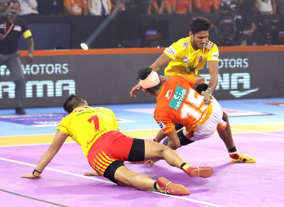 Giants against Puneri Paltan