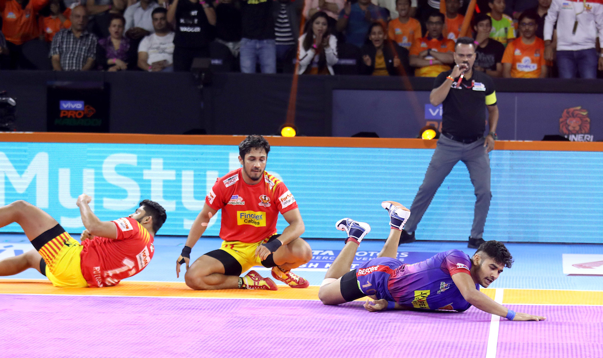 Gujarat Fortune Giants vs. Dabang Delhi