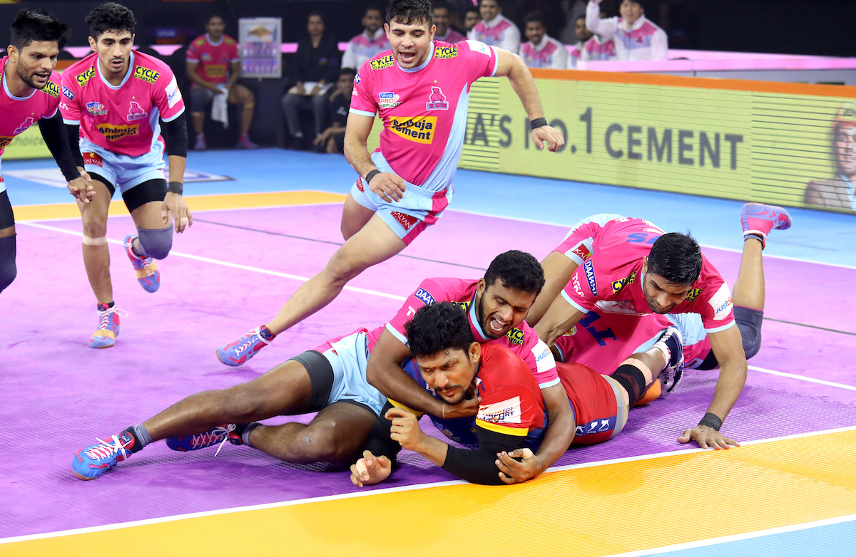 Jaipur Pink  Panthers Vs. UP Yoddha