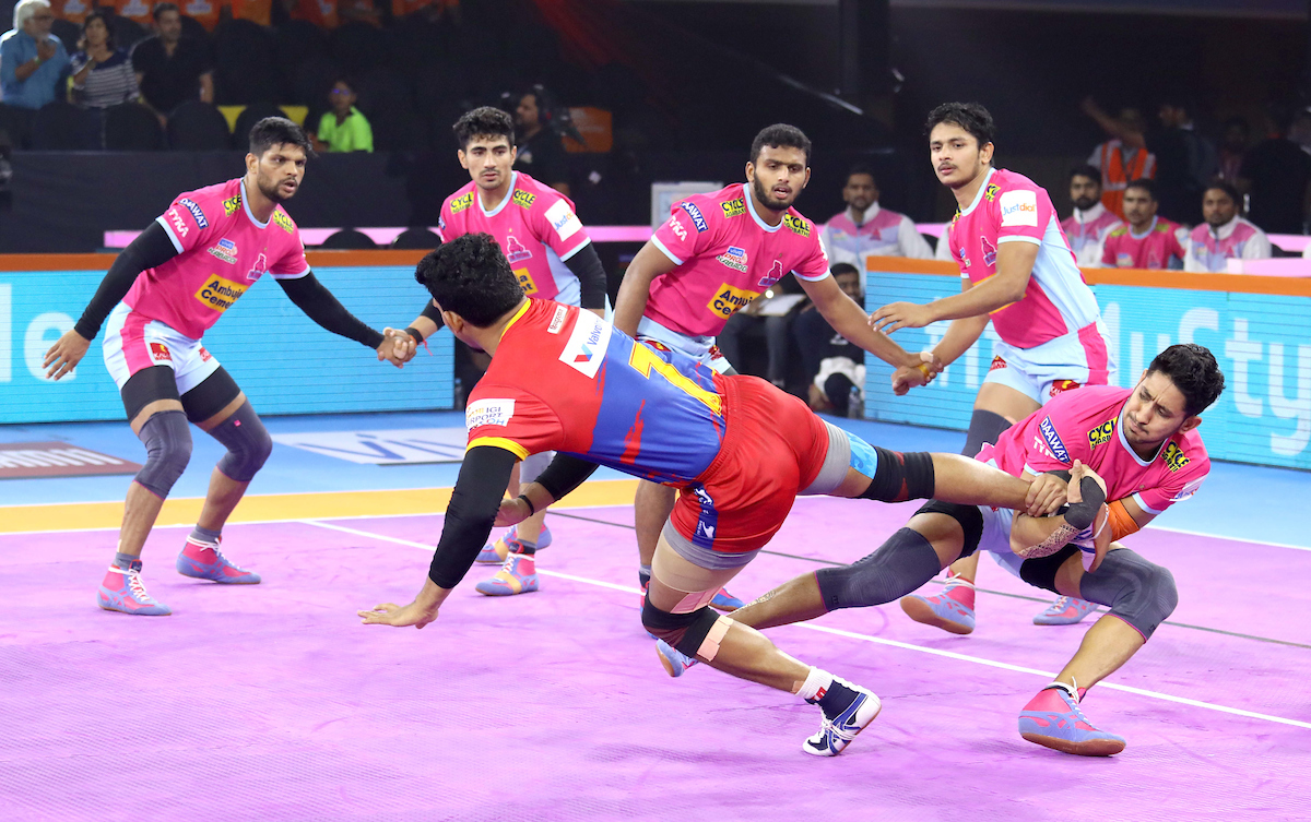 UP Yoddha Vs. Jaipur Pink Panthers