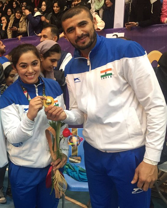 Ajay Thakur and Priyanka Negi