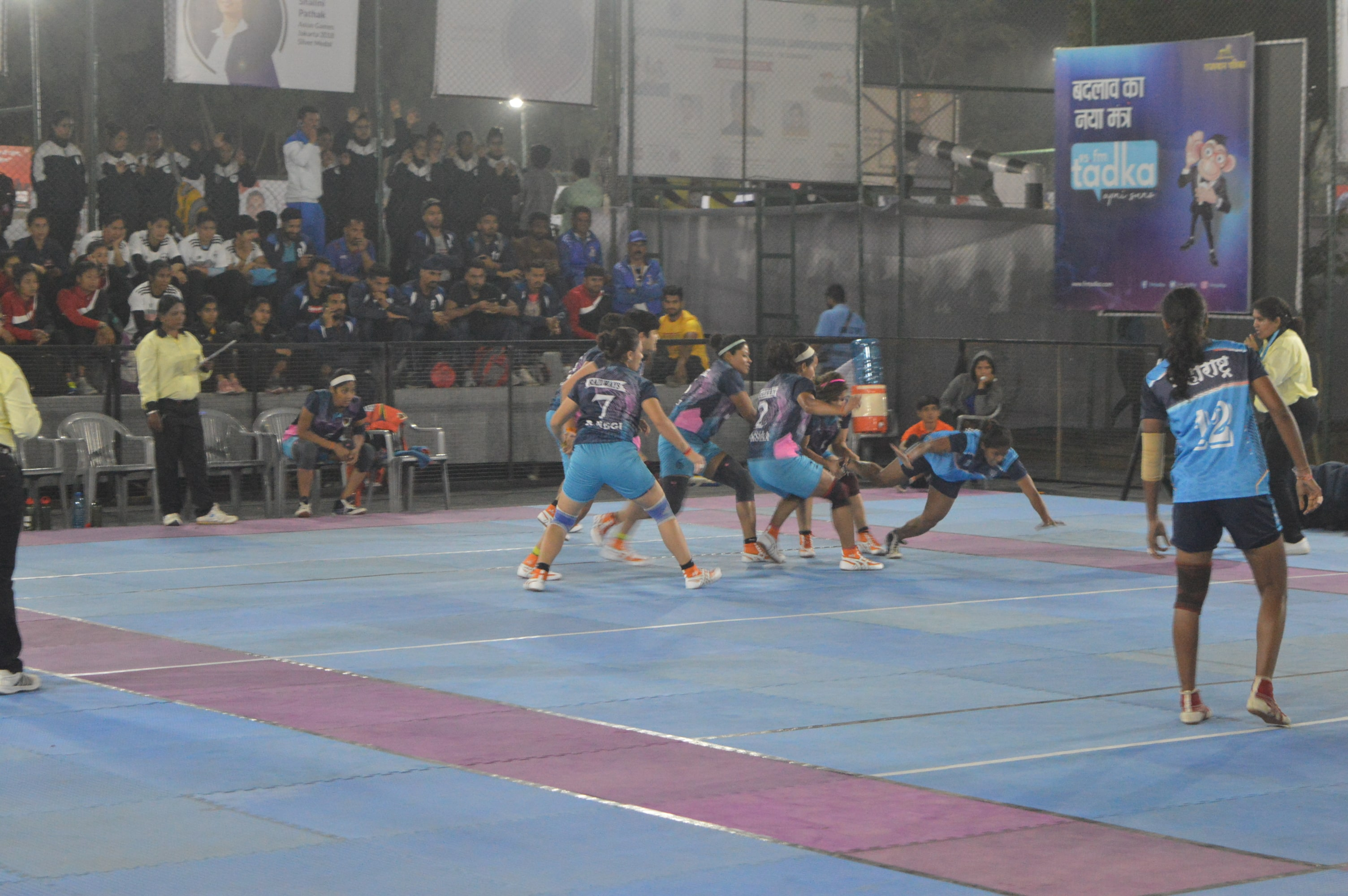 Maharashtra Women vs Indian Railways Women Match