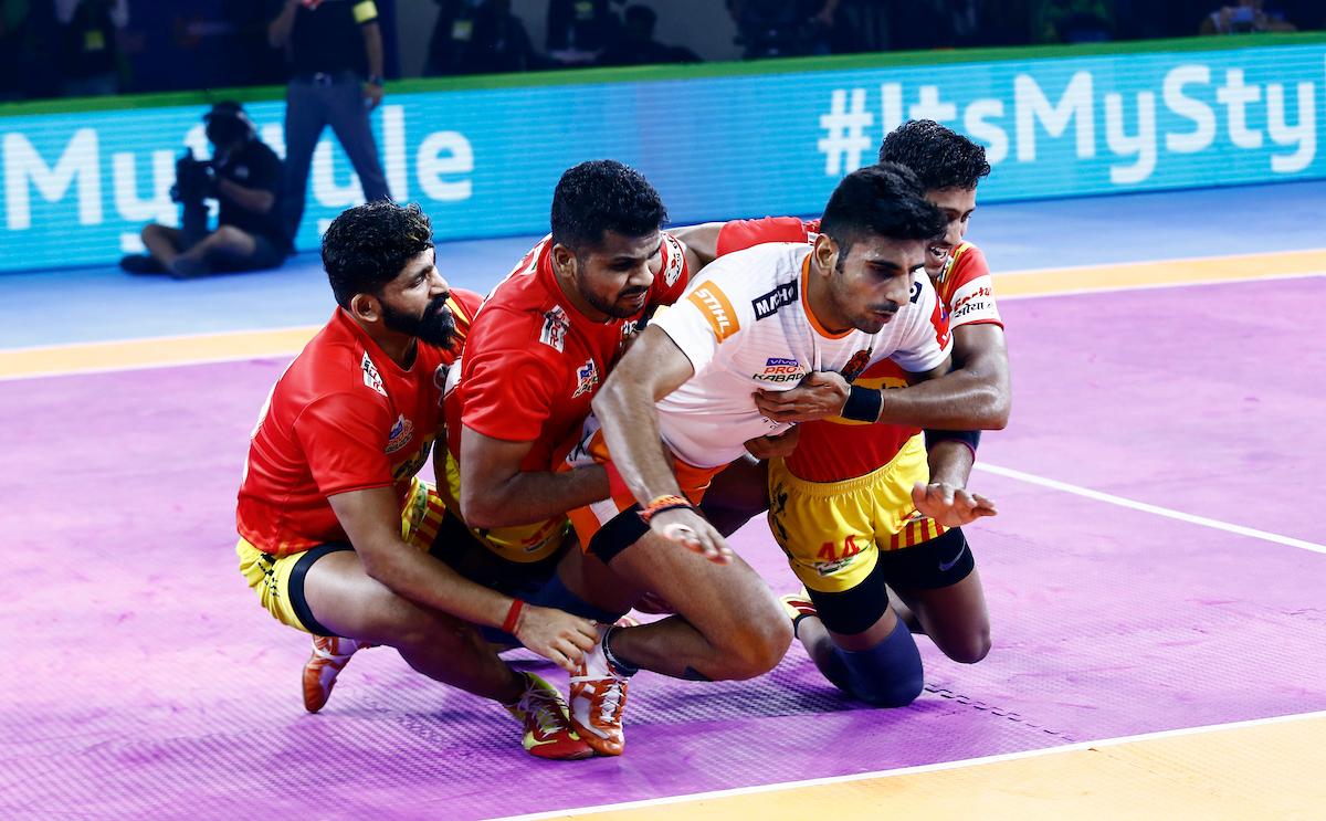 Gujarat against Paltan