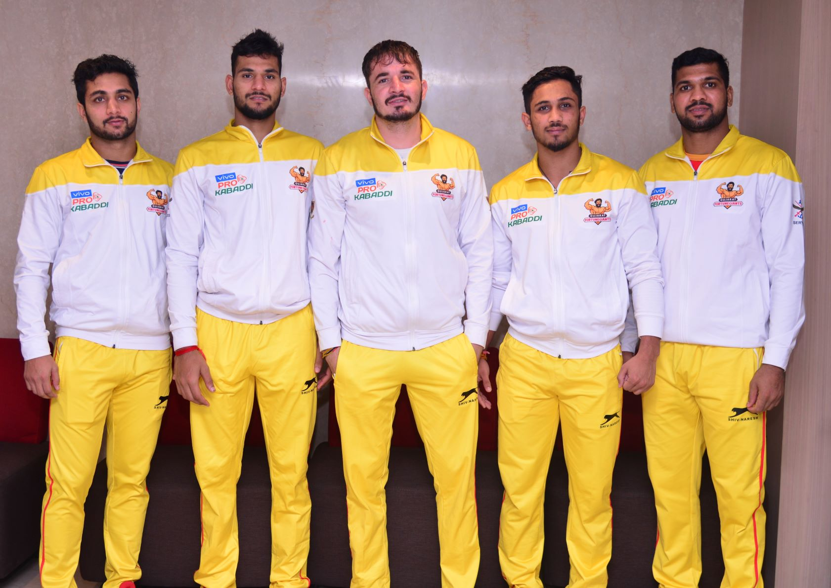 Gujarat Fortunegiants players