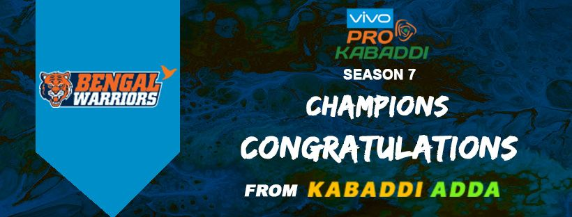 Pro Kabaddi Season 7 Final Dabang Delhi Vs Bengal Warriors