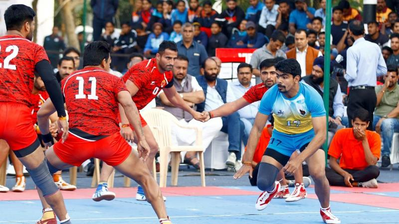Haryana State Team in action