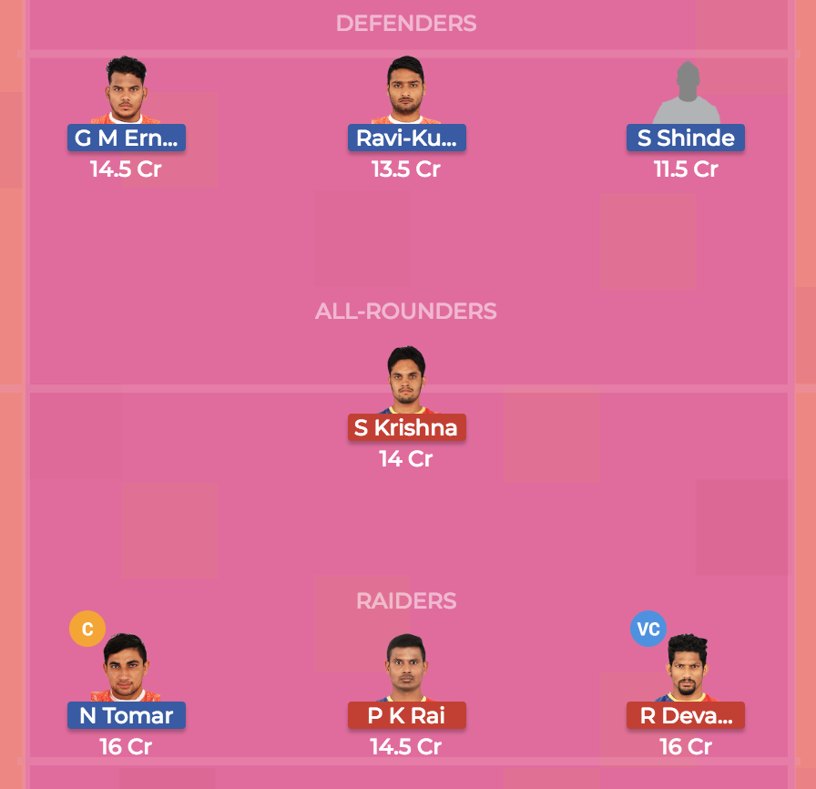 Dream 7 preview Puneri Paltan Vs. UP Yoddha, team 1