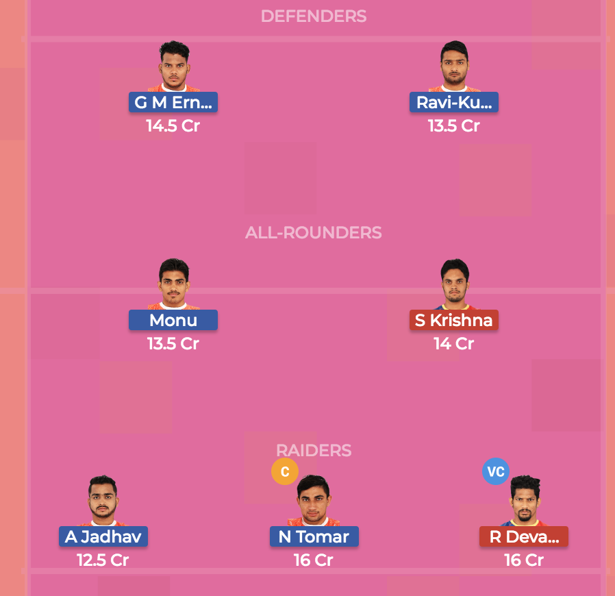Dream 7 preview Puneri Paltan Vs. UP Yoddha, team 2
