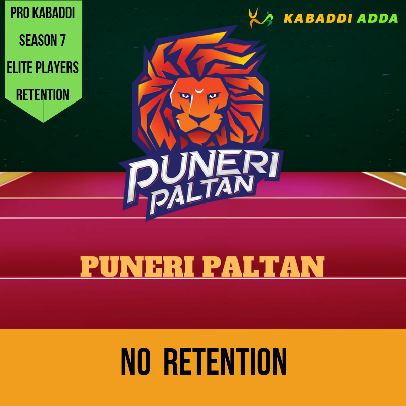 Puneri Paltan retained players list