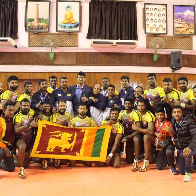 Sri Lanka Kabaddi Team