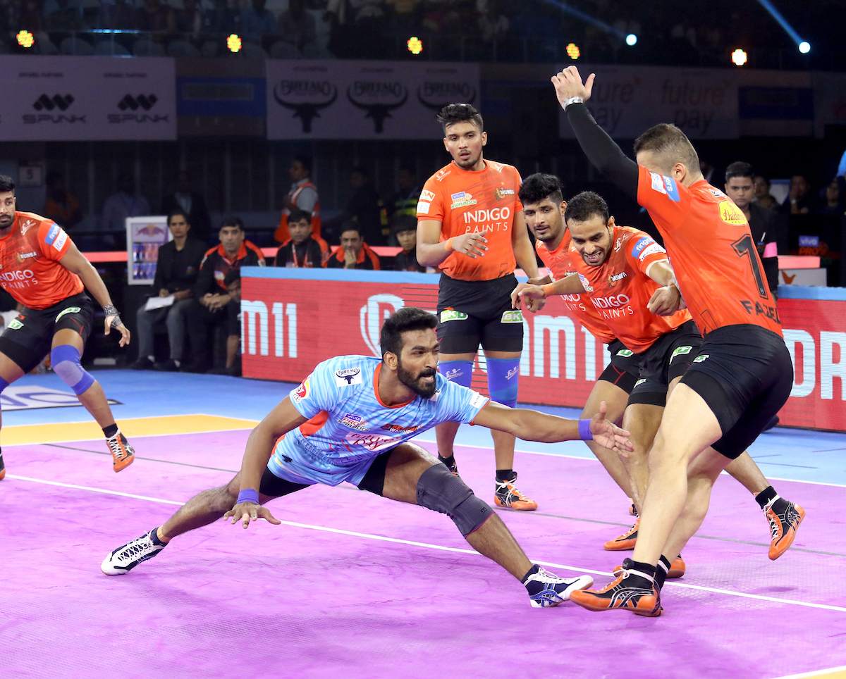 Sukesh Hegde against U Mumba