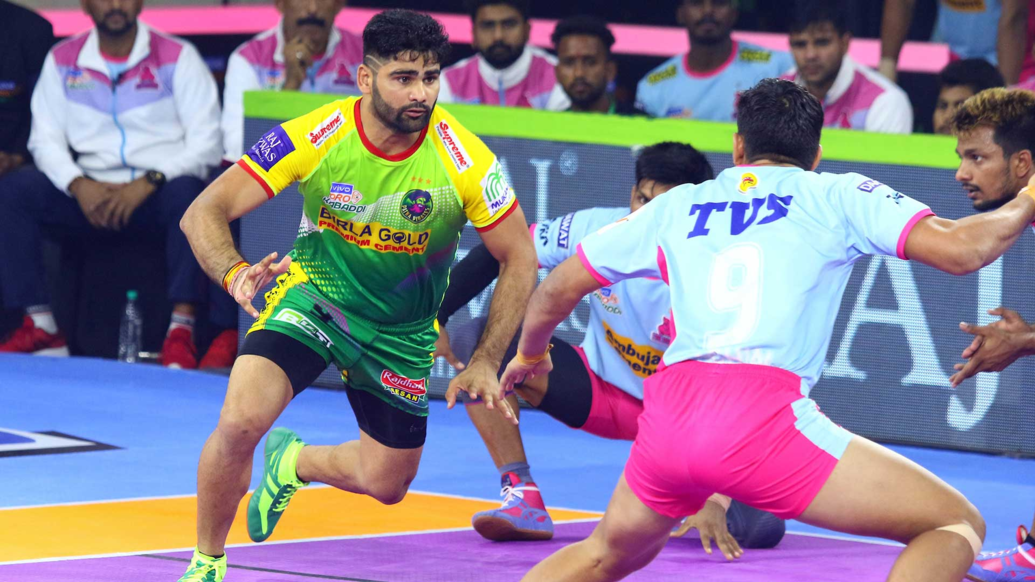 Pardeep Narwal on his hunt