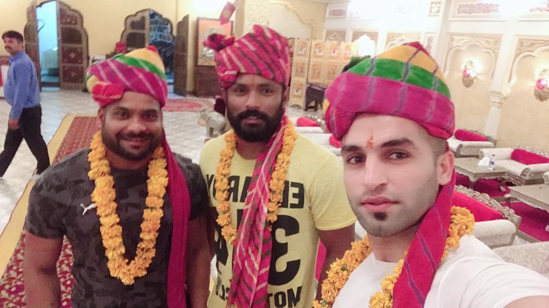 Vishal Mane and Fazel