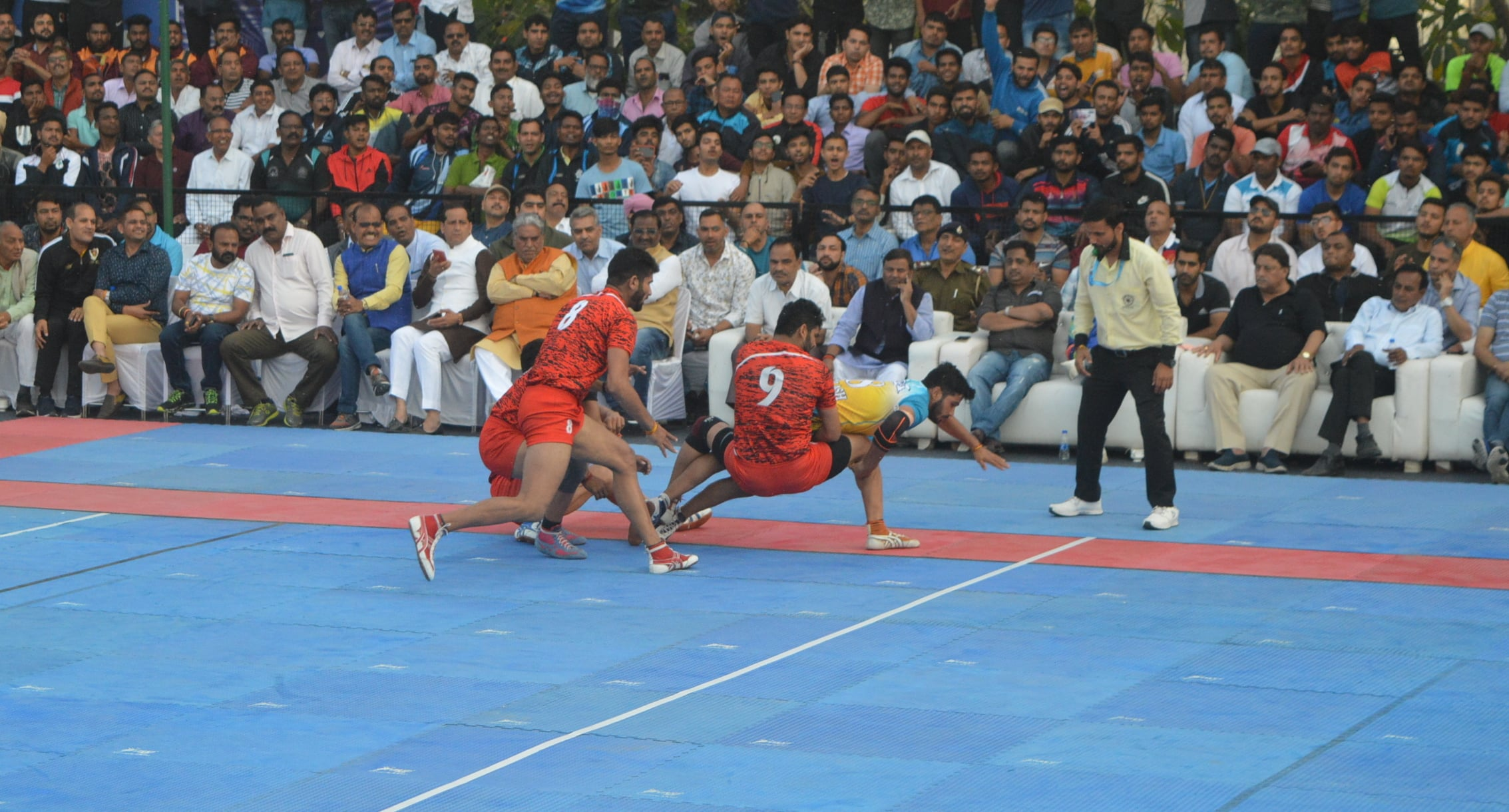 Vikas Khandola during his Super Raid