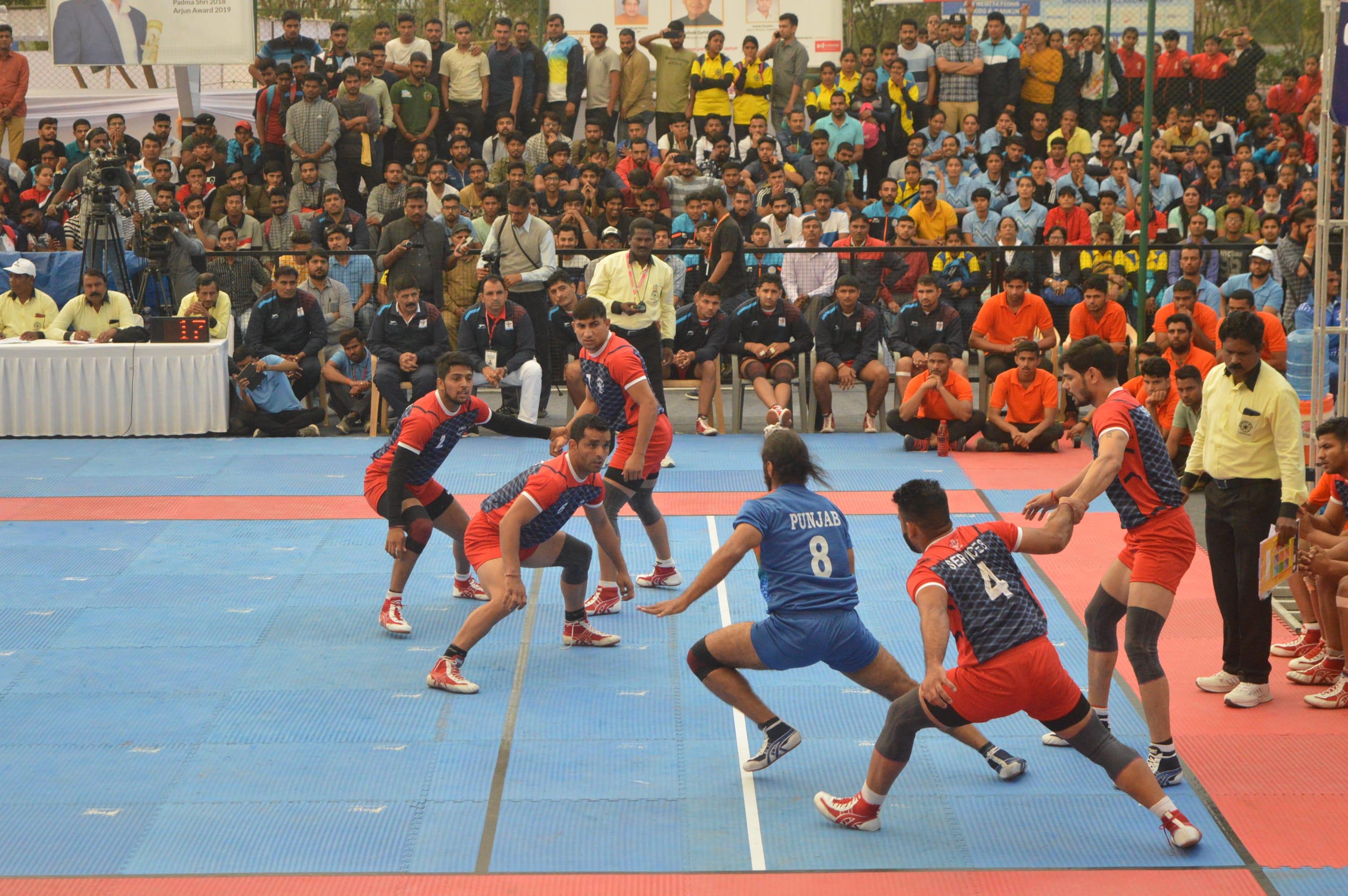Surjeet Singh in action