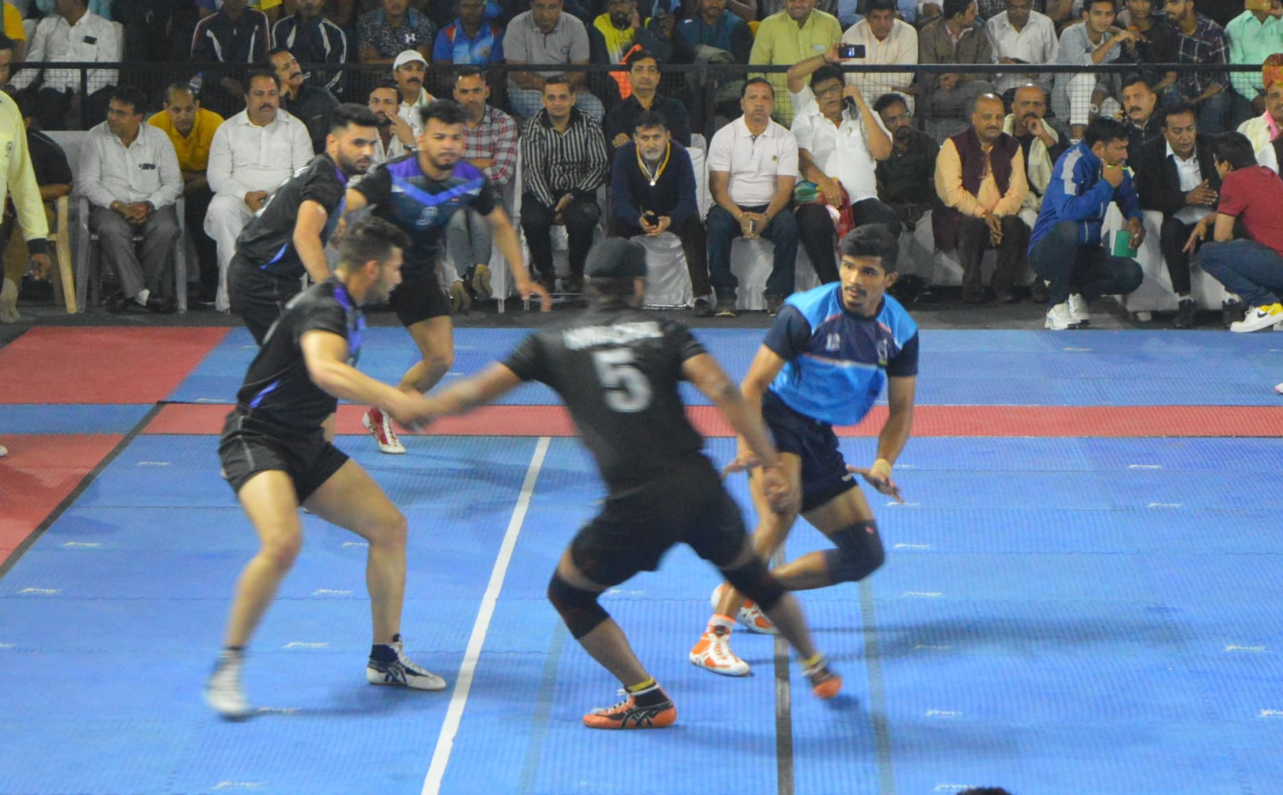 Pankaj Mohite at 67th Senior Nationals against Himachal Pradesh