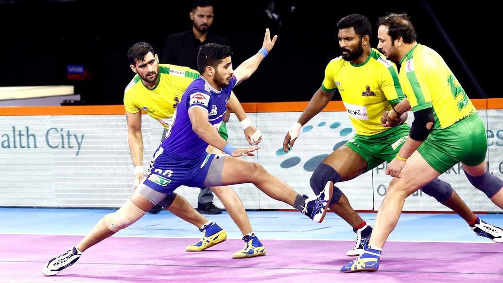 Vikas kandola performed exceptionally against Tamil Thalaivas