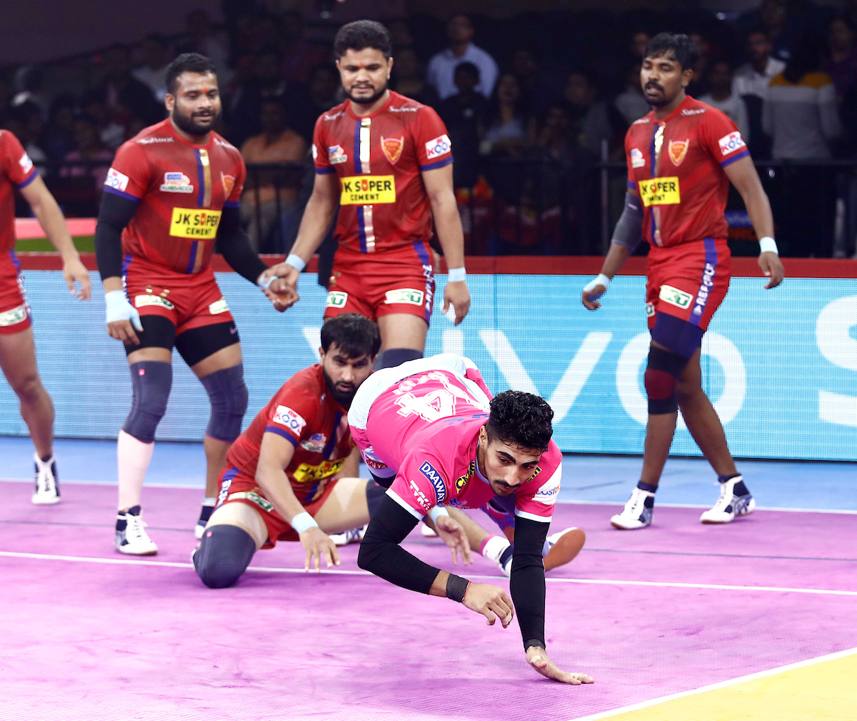 Dabang Delhi Vs Jaipur Pink Panthers