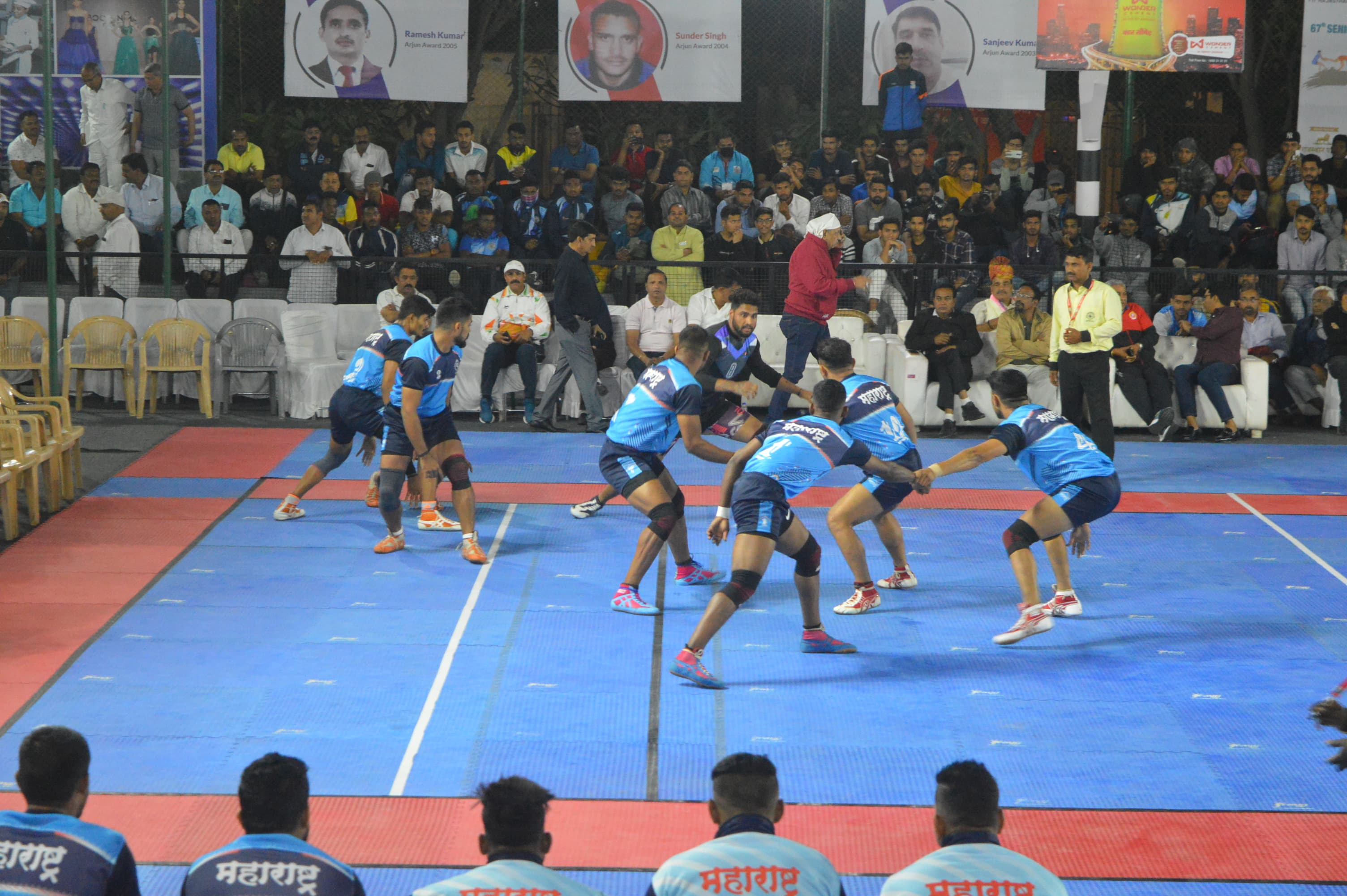 Maharashtra Team in action