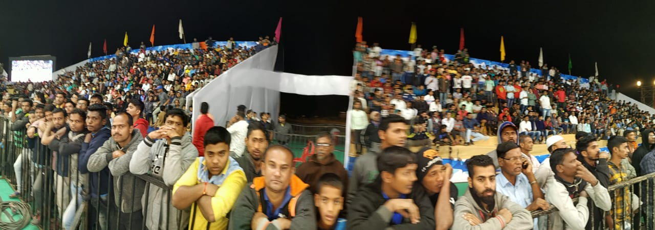 Packed Stadiums Senior Nationals Kabaddi Roha