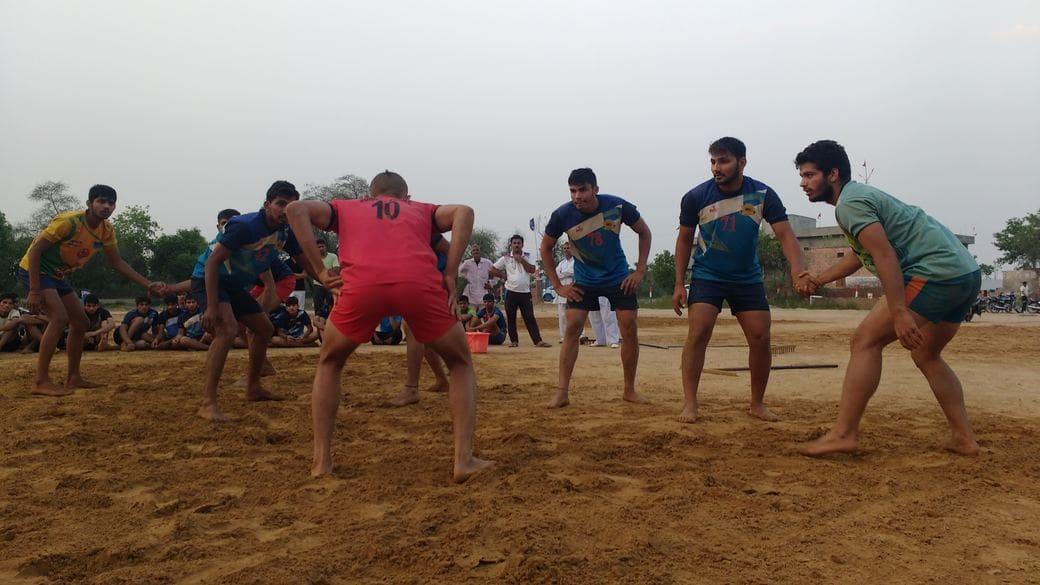 KabaddiAdda Syed Modi Railway Stadium Gorakhpur