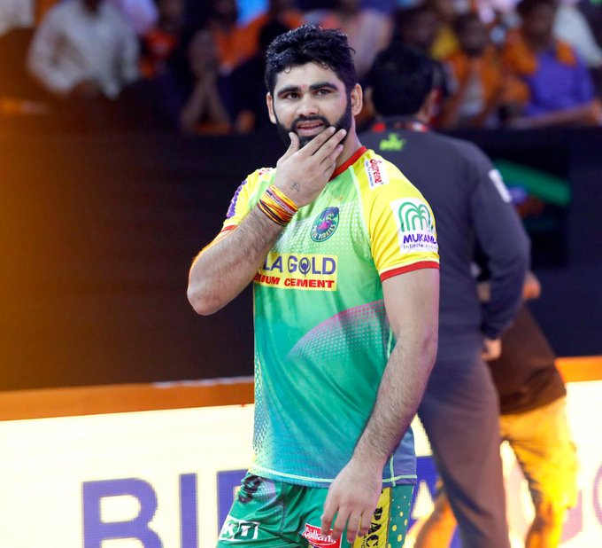Pardeep Narwal (Courtesy - PKL)