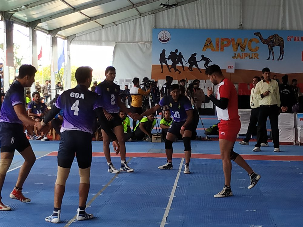 All India Police Kabaddi - Womens team