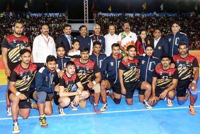 66th Senior National Kabaddi Champions - Railway Sports Promotion Board