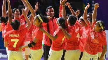 Asian Games Indian Women's Kabaddi team