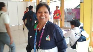 Iran coach Shailaja Jain