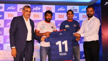 Yogeshwar Dutt as brand ambassador of Haryana Steelers
