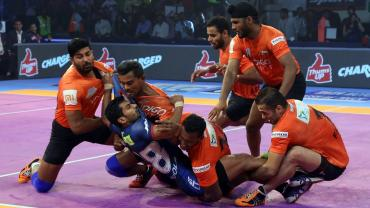 Haryana Steelers VS U Mumba PKL Day 7