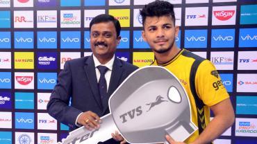 Telugu Titans captain Vishal Bhardwaj