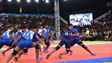 Defending champions Maharashtra received the knockout punch from the Indian Railways