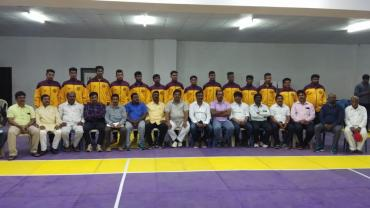 Karnataka boys kabaddi team